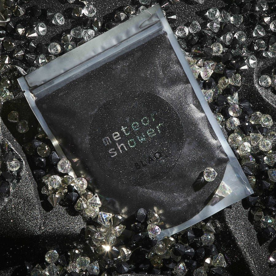 Blaq has created a shower scrub containing actual meteorite dust