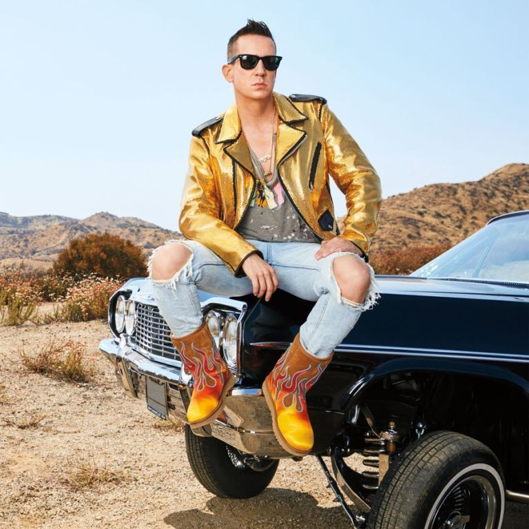 Jeremy Scott has designed a collection of extra ugg boots