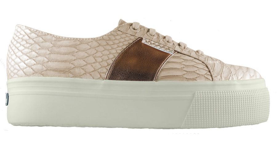 Superga has released a new collection of platform sneakers
