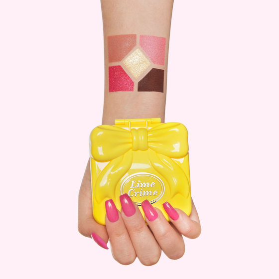 Lime Crime is releasing Polly Pocket-inspired eyeshadow palettes