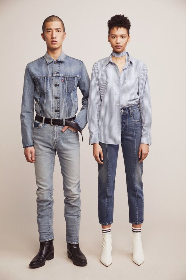 Levi's has customised its new denim collection for you