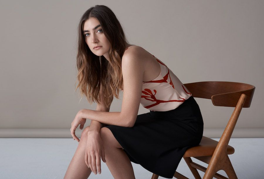 Ethical Clothing Australia is holding a free lunchtime runway in Melbourne today