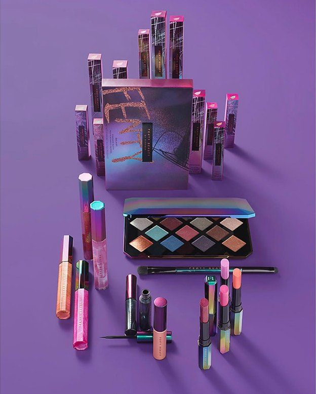 Rihanna just unveiled Fenty Beauty's holiday collection