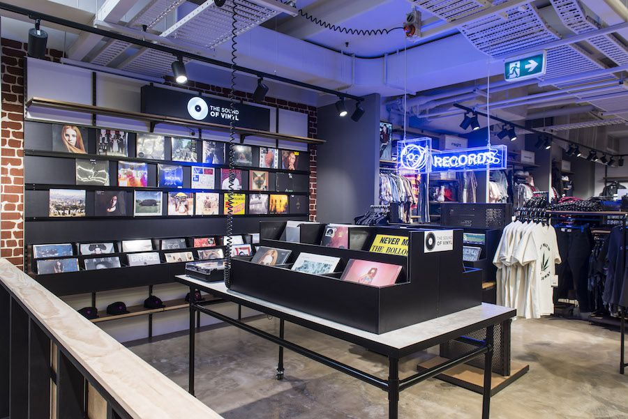 General Pants Co's new flagship store features a tattoo parlour and record store