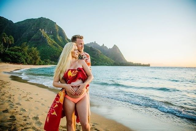 Heidi Montag and Spencer Pratt just shared a glorious maternity shoot