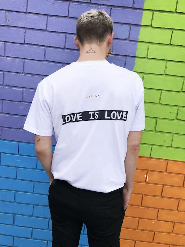 Factorie just gave away 300 T-shirts to support marriage equality