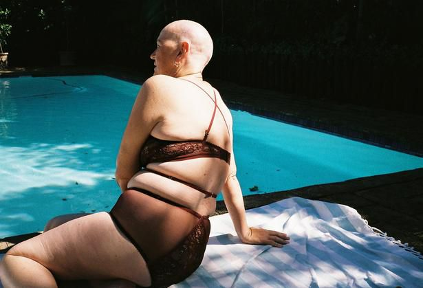 Lonely has photographed three women living with breast cancer for Breast Cancer Awareness month