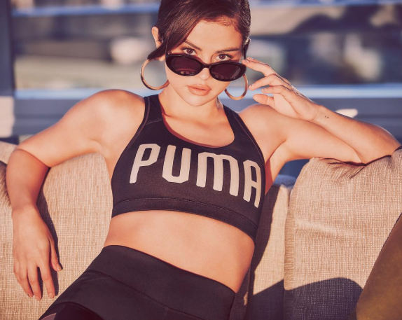 Selena Gomez is the new face of Puma