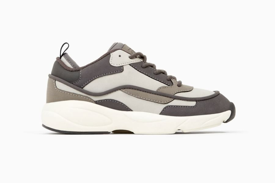 Zara released a shoe that looks suspiciously like Balenciaga's Triple S