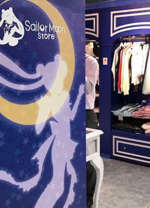 The first permanent Sailor Moon store just opened in Japan
