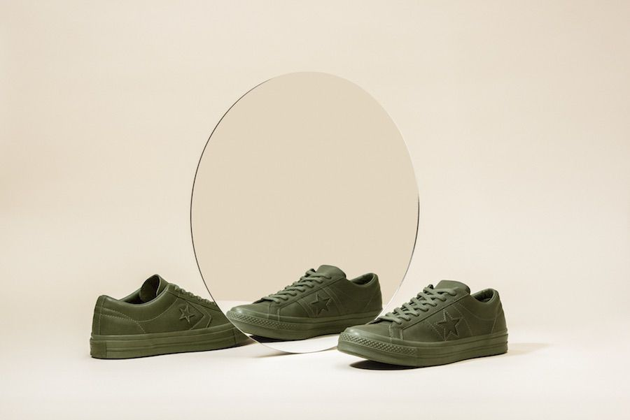 Engineered Garments and Converse have released a limited-edition One Star collection