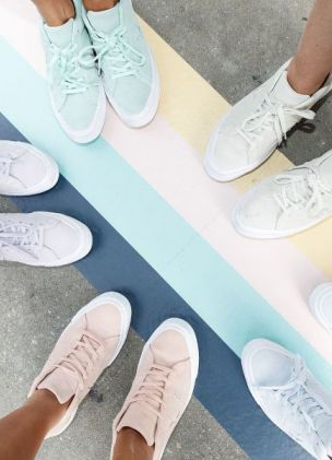 Converse threw a gallery event to celebrate the return of the One Star