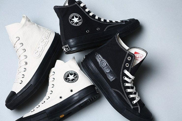 Comme des Garçons and Converse have collaborated on another Chuck Taylor