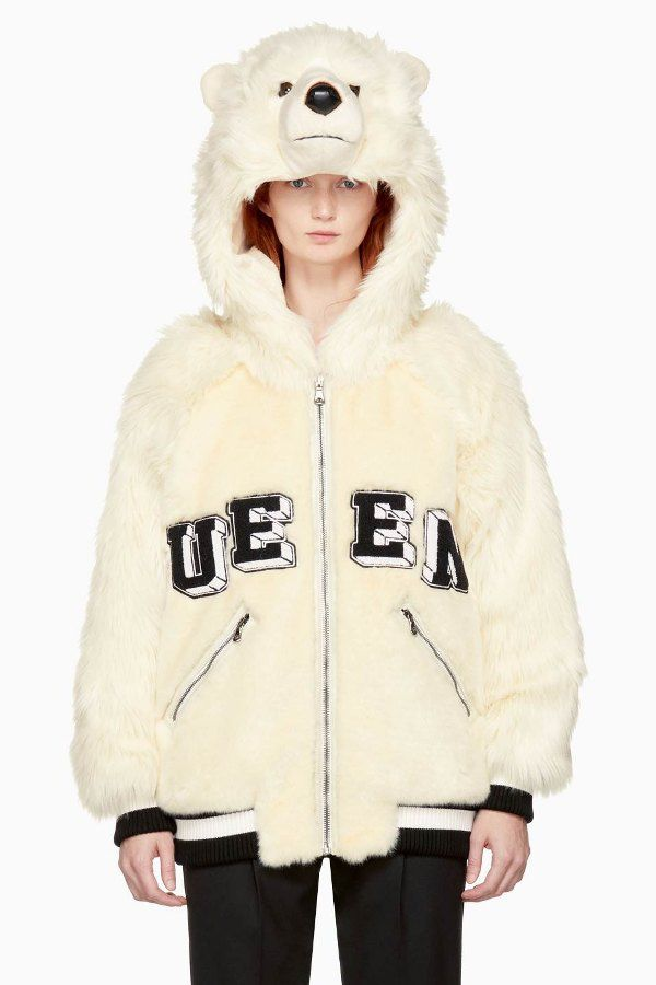You can now get your hands on a jacket resembling a real-life polar bear