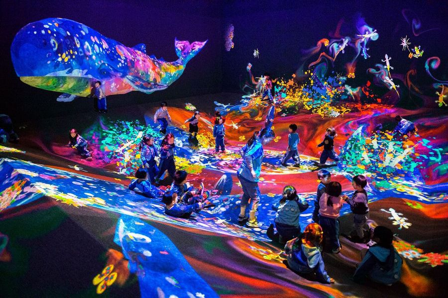 teamLab is bringing an interactive exhibition to Australia