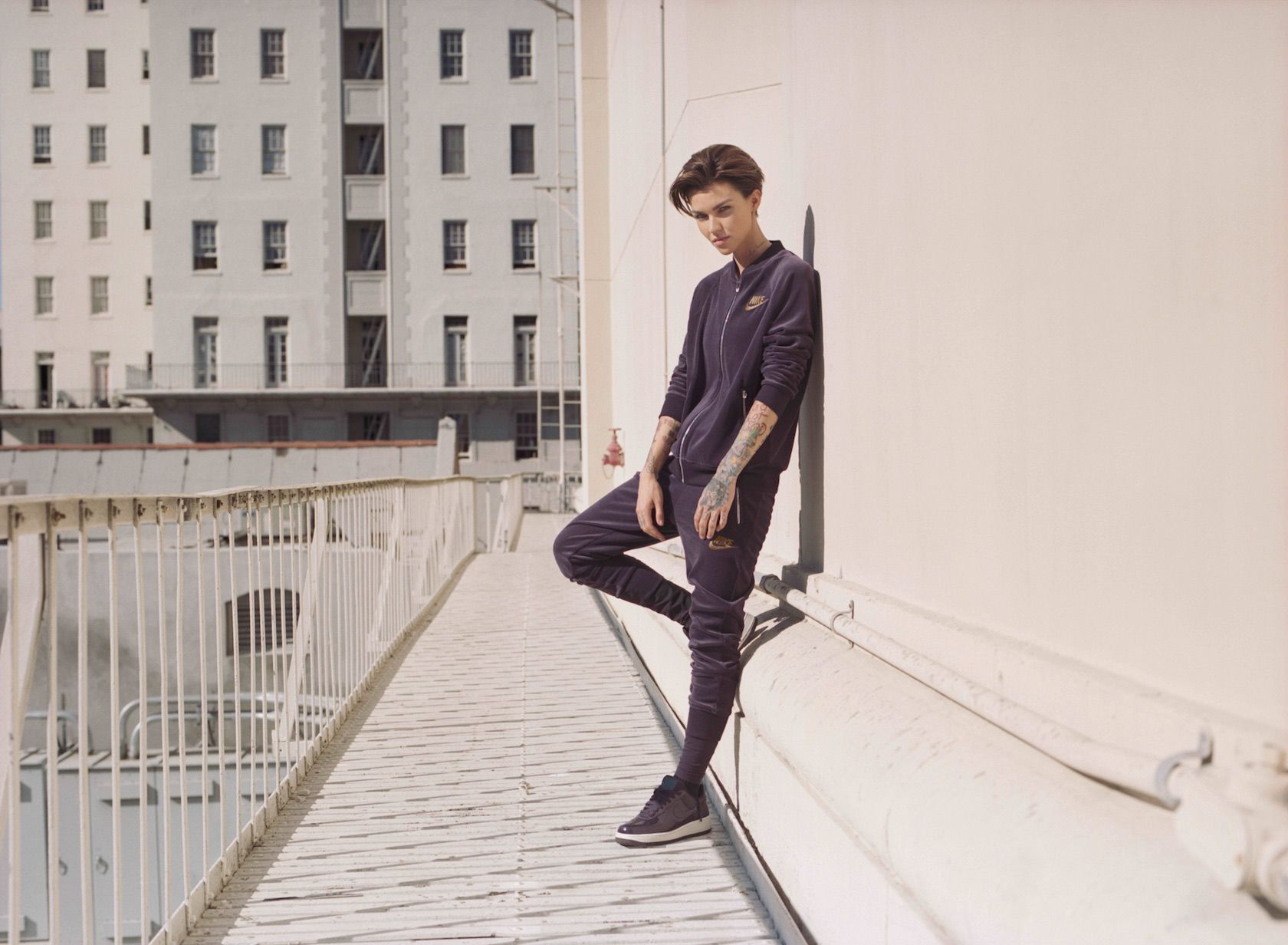 Nike releases capsule collection with long-time collaborator Ruby Rose