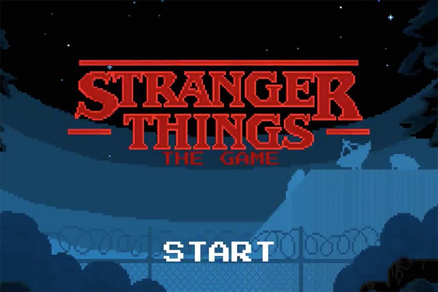 'Stranger Things' is now available as an 8-bit video game