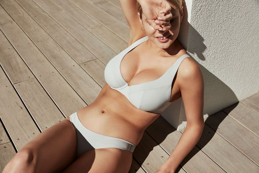 This label is producing swimwear exclusively for women with D+ cup sizes