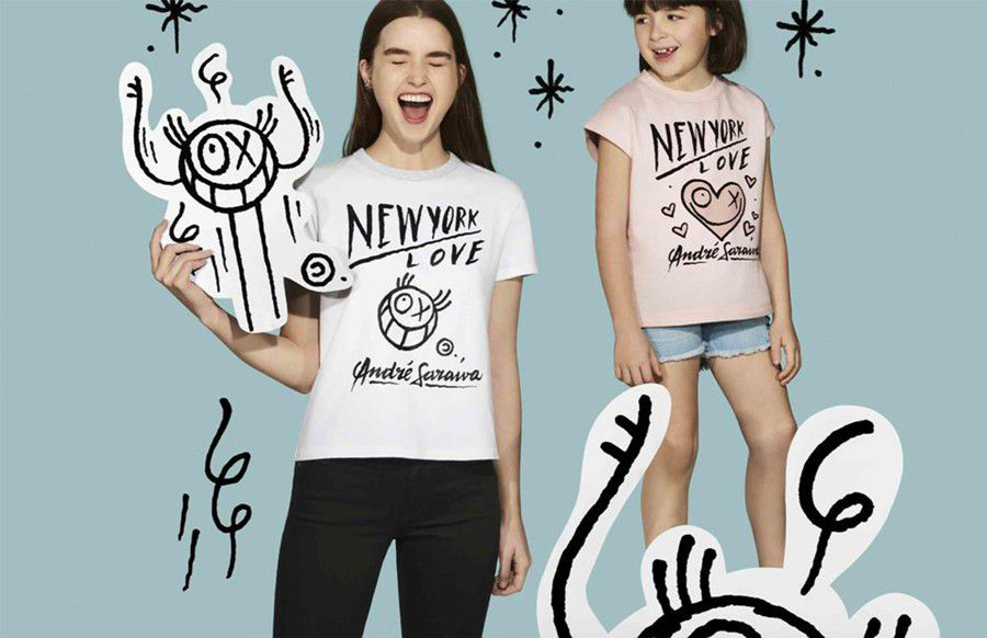 UNIQLO has tapped a graffiti artist for its latest capsule collection