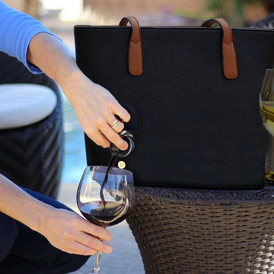 You can finally purchase a bag that hides your wine