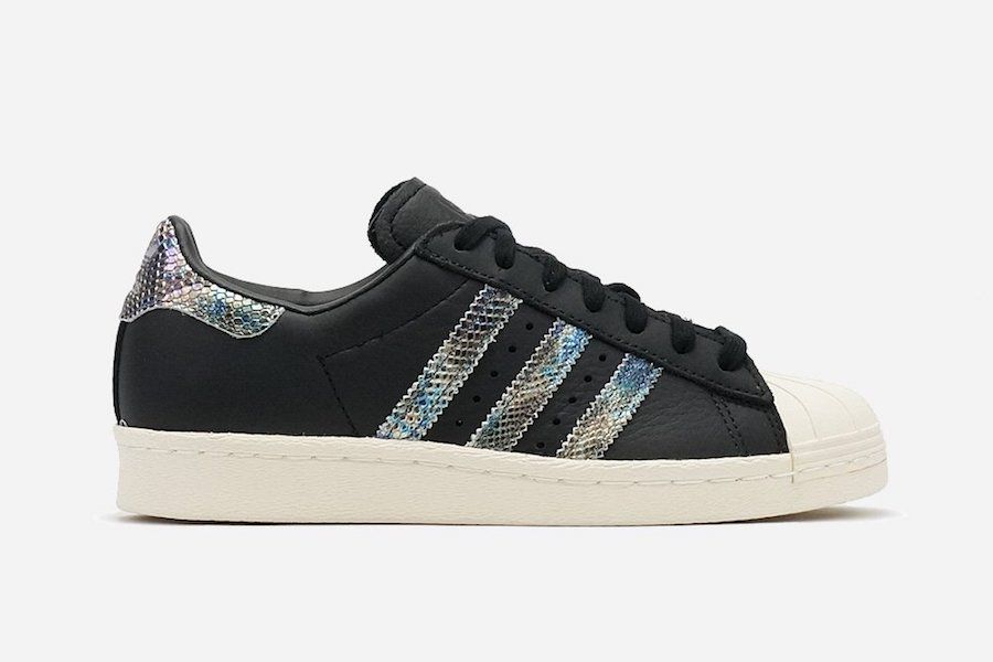 adidas just gave the Superstar iridescent snakeskin detailing