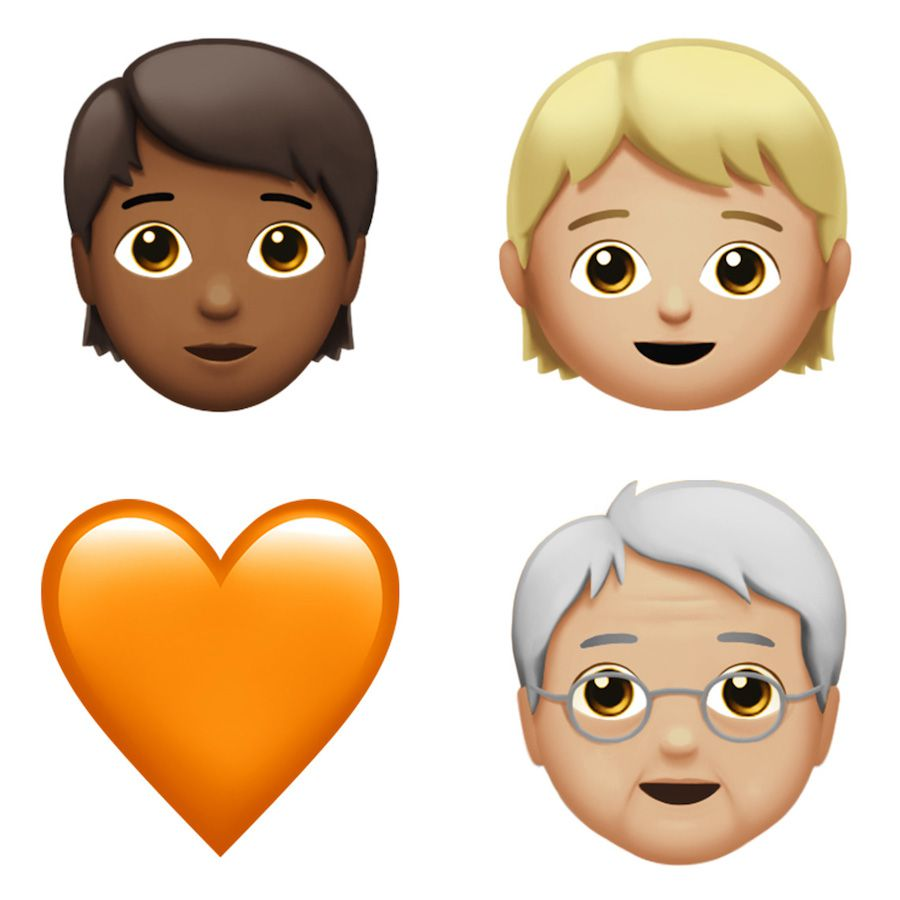 Gender-neutral emojis are coming in the next Apple update