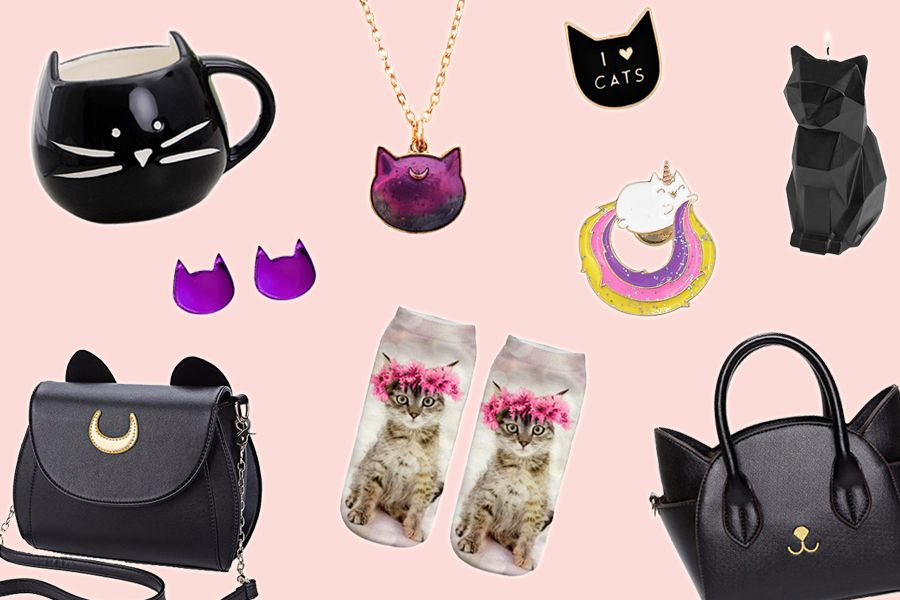 There's now an online store especially for crazy cat people and their furry friends