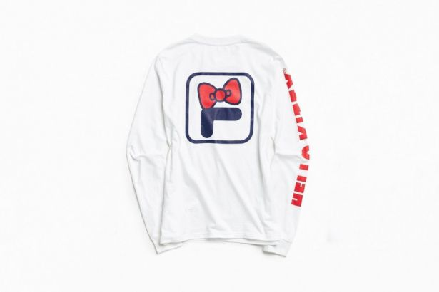 Hello Kitty has joined forces with Fila for an Urban Outfitters exclusive