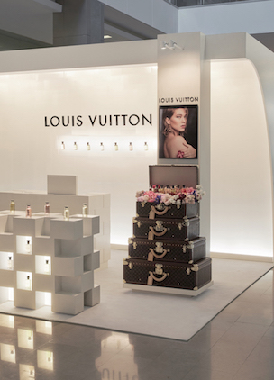 A Louis Vuitton perfume pop-up has opened in Bondi