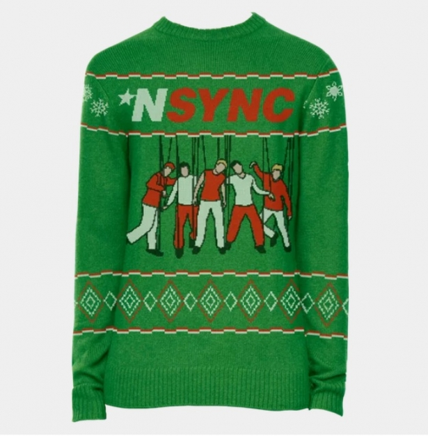 *NSYNC has released a line of holiday merch