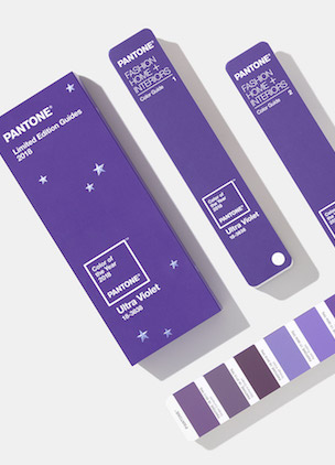 Pantone's 2018 Color of the Year is a shade of purple