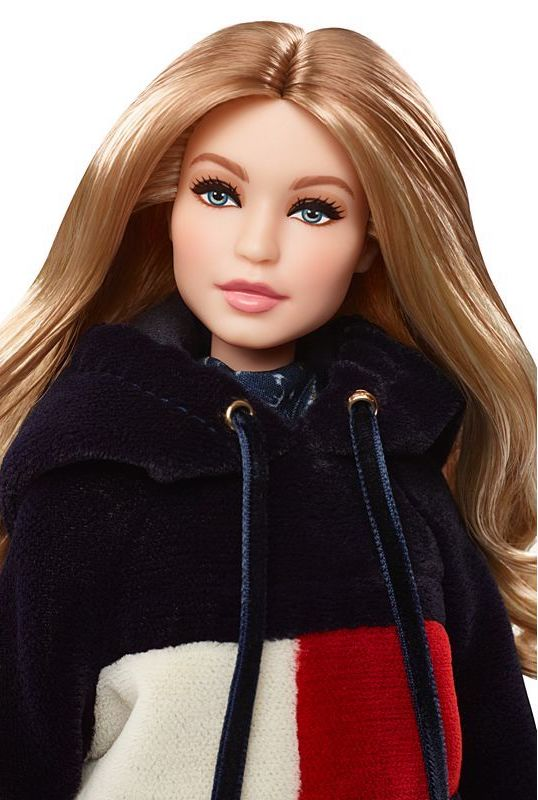 You can now get your hands on a Gigi Hadid x Tommy Hilfiger Barbie