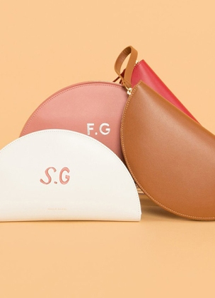 Mansur Gavriel introduces hand-painted monogramming
