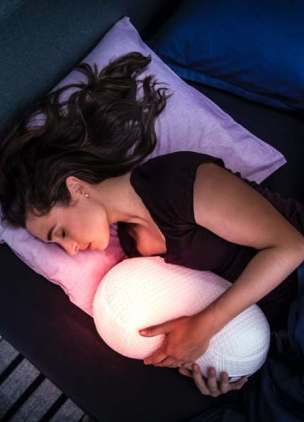 Attention lonely people: you can now cuddle a robot to get to sleep