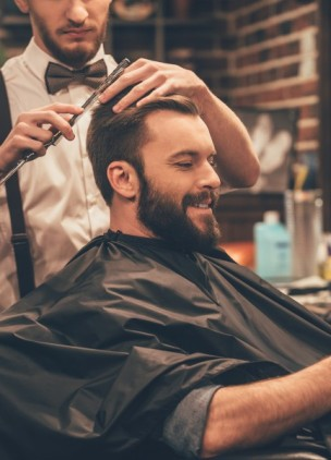 A subscription-based barber service for men now exists
