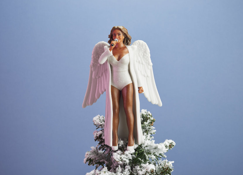Women To Look Up To Beyonce Christmas tree angel