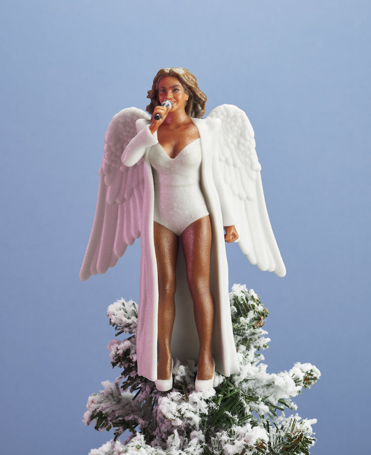 Archangel Beyoncé is now available as a Christmas tree topper