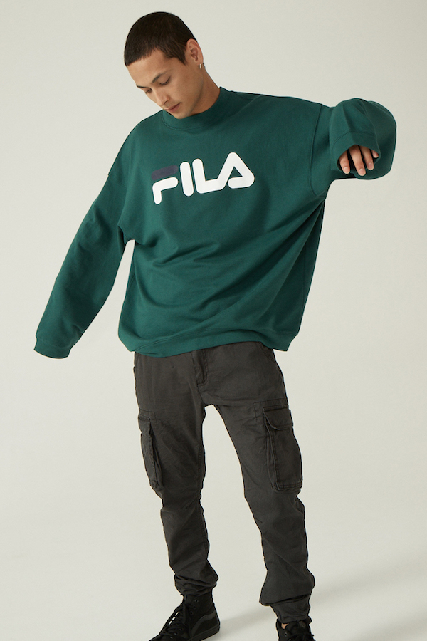 Factorie teams up with Fila and Umbro for a throwback streetwear collection