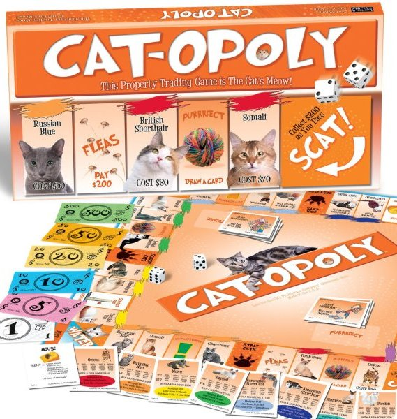 Cat-Opoly is here to bring out your inner crazy cat person
