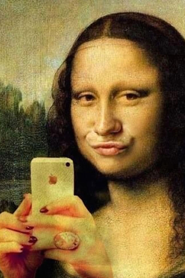 There's a museum dedicated to selfies now because we're all narcissists