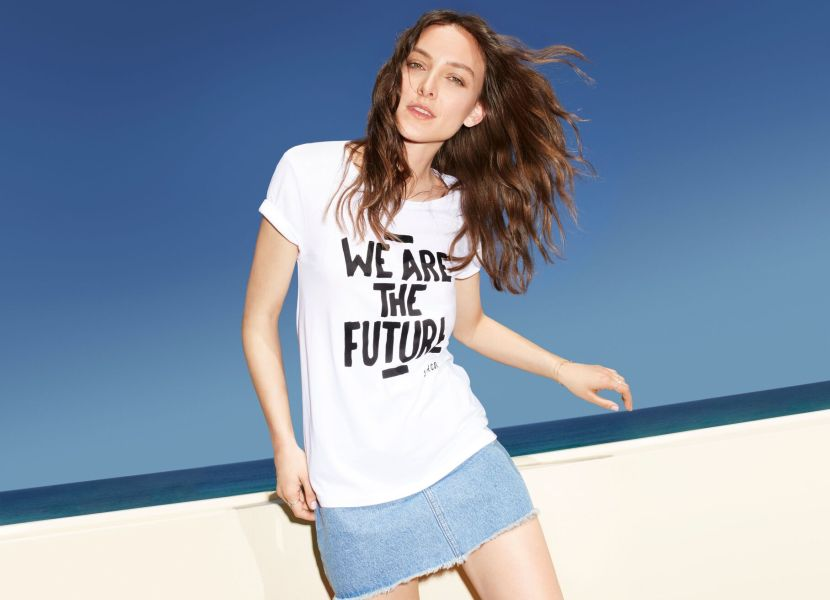 Ollie Henderson we are the future t-shirt
