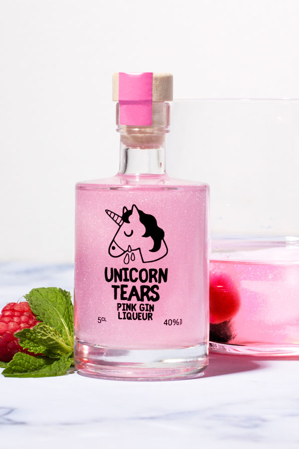 You can now buy Unicorn Tears Pink Gin, whatever that is