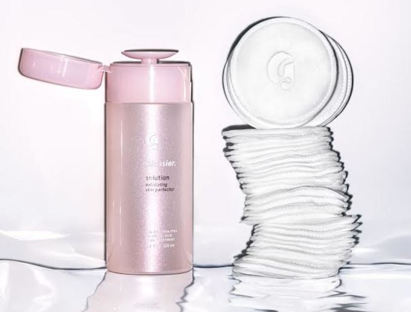 Glossier skin perfecting solution