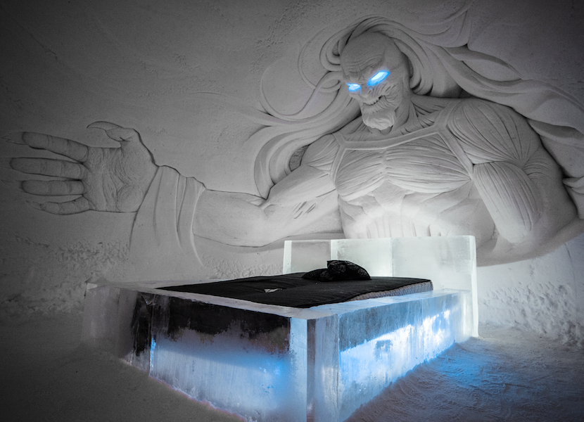 Lapland Hotels Game of Thrones snow village