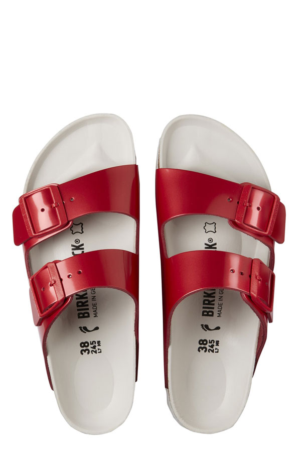 Birkenstock is spreading the love with a Valentine's Day sandal