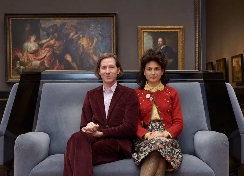 Wes Anderson and Juman Malouf