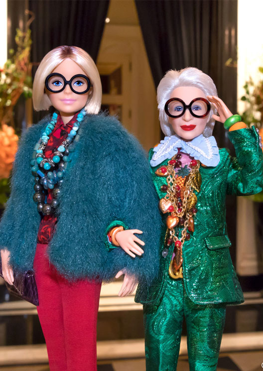 Iris Apfel is getting her very own fashionable Barbie