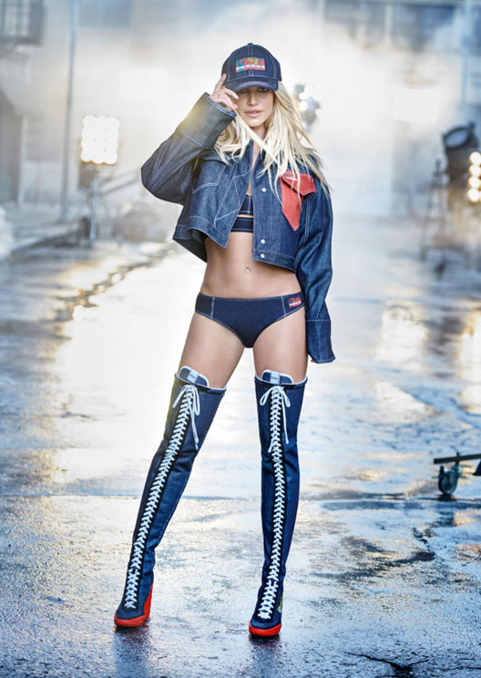 Britney Spears is the new face of Kenzo because she's forever iconic
