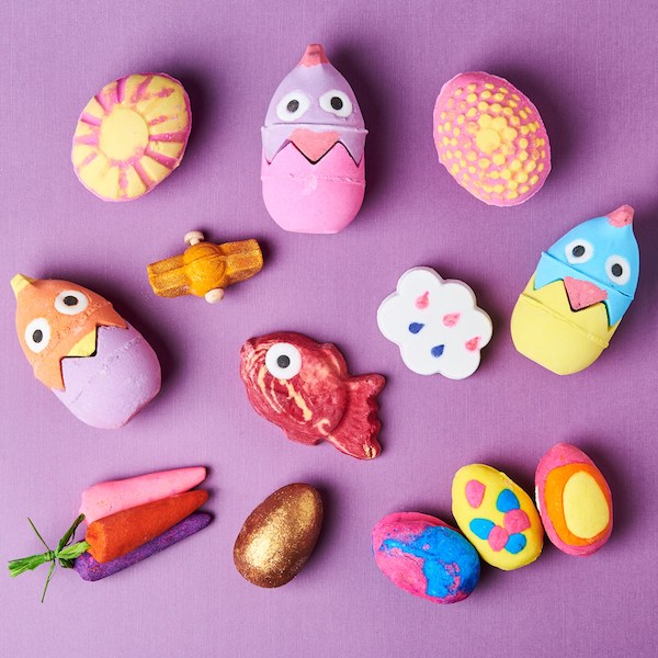 This collection from Lush will have you trading in your Easter eggs