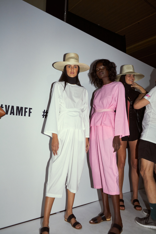 Take a look backstage at VAMFF Runway 1